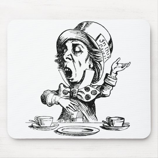 Mad Hatter Mouse Mat