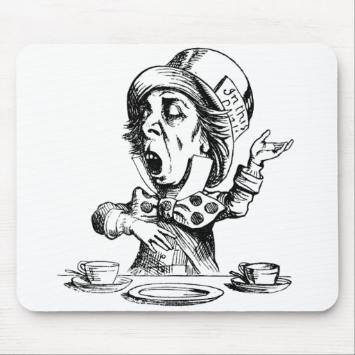 Mad Hatter Mouse Mats