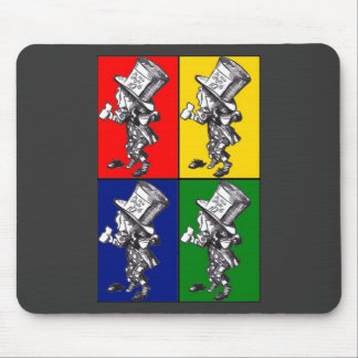 Mad Hatter Pop Art Mouse Pad
