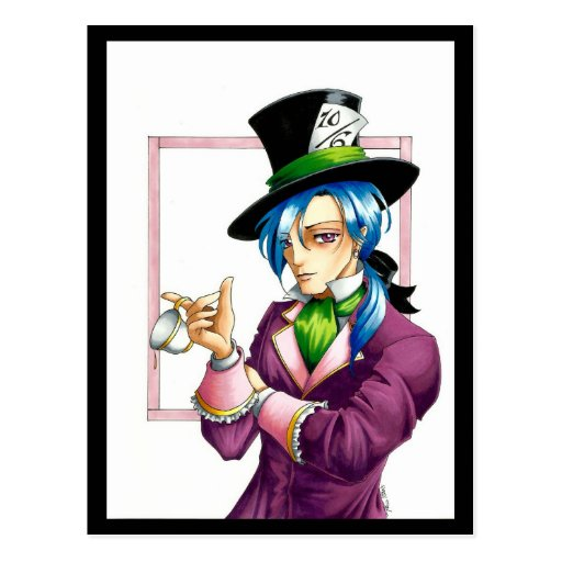 Mad Hatter Post Cards
