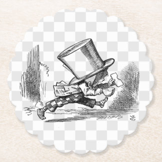 Mad Hatter Running Paper Coaster