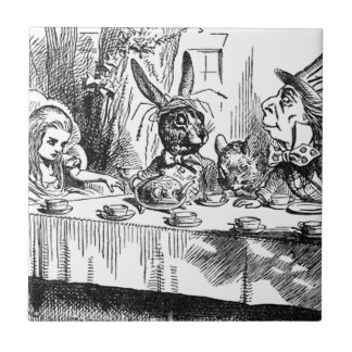 Mad Hatter Small Square Tile