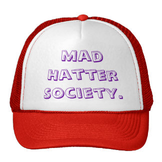 Mad Hatter Society Hats