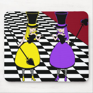 Mad Hatter - Spade & Club Mouse Pad