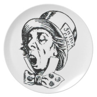 Mad Hatter Speech Plate