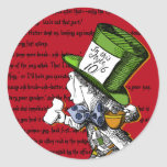Mad Hatter Stickers