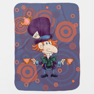 Mad Hatter Tea for Two Stroller Blanket