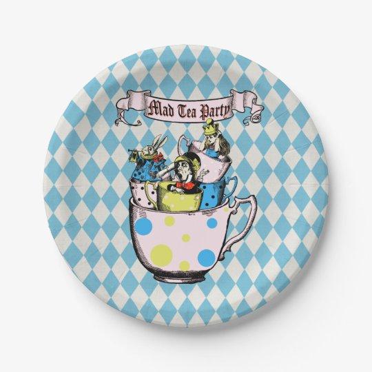 Mad Hatter Tea Party Alice in Wonderland Paper