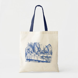 Mad Hatter Tea Party Canvas Bag