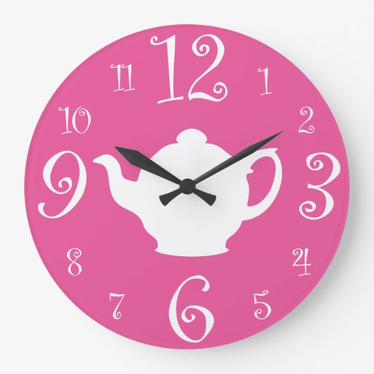 Mad Hatter Tea Party Cute Pink and White