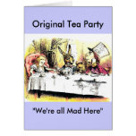 Mad Hatter Tea Party Greeting Cards