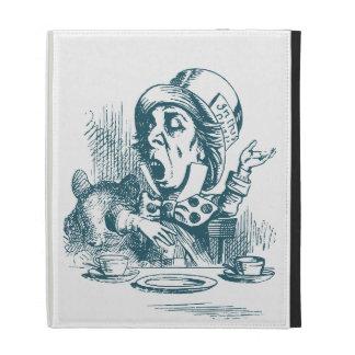 Mad Hatter Tea Party iPad Folio Cases