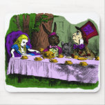 Mad Hatter Tea Party with Alice Mouse Pad
