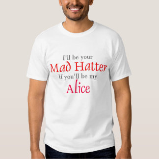 Mad Hatter Tee Shirt