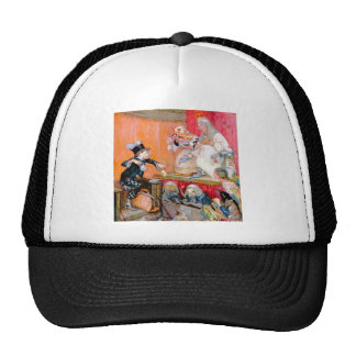 Mad Hatter Testifys for the Queen & King of Hearts Hats