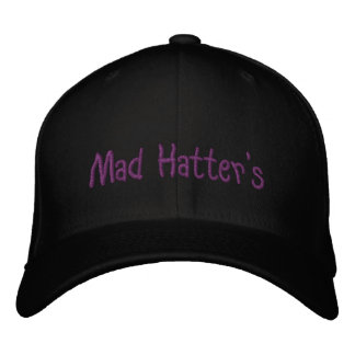 Mad Hatter's Embroidered Hat