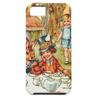 Mad Hatter's Tea Party  - Alice in Wonderland iPhone 5 Covers