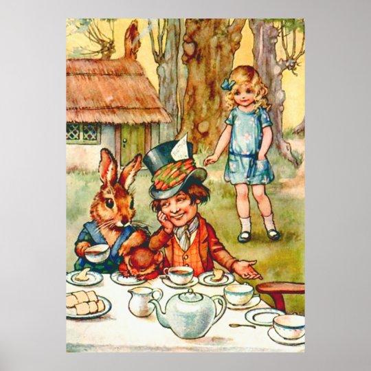 Mad Hatter's Tea Party - Alice in Wonderland