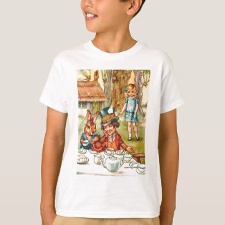 Mad Hatter's Tea Party  - Alice in Wonderland T-Shirt