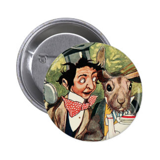 Mad Hatter's Tea Party 6 Cm Round Badge