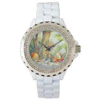 Mad Hatters Tea Party Full Color Watch