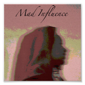 Mad Influence Gambia Dance Poster