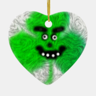 Mad Irish Shamrock Christmas Ornament