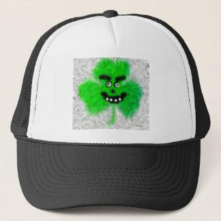 Mad Irish Shamrock Trucker Hat