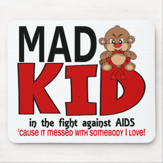 Mad Kid AIDS Mouse Pad