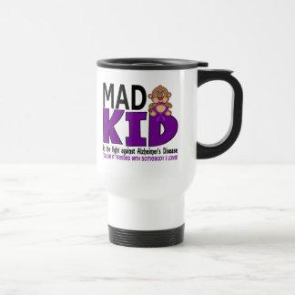 Mad Kid Alzheimers Disease Stainless Steel Travel Mug