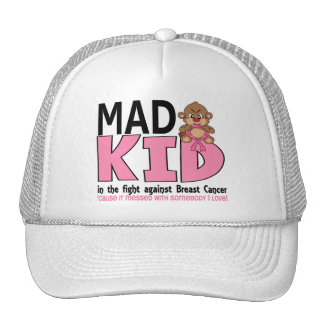 Mad Kid Breast Cancer Hat