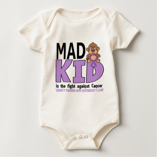 Mad Kid Cancer Baby Bodysuit