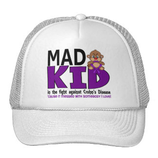Mad Kid Crohn's Disease Mesh Hats