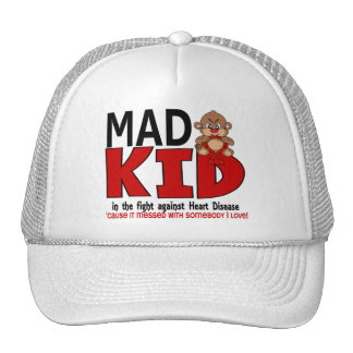 Mad Kid Heart Disease Hats