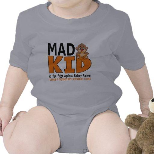 Mad Kid Kidney Cancer T Shirt