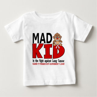 Mad Kid Lung Cancer Baby T-Shirt