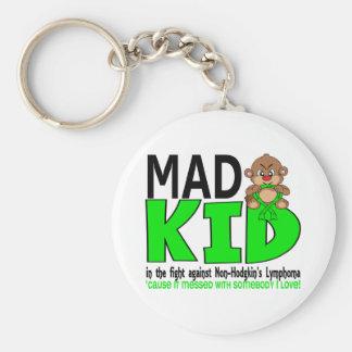 Mad Kid Non-Hodgkins Lymphoma Key Chains