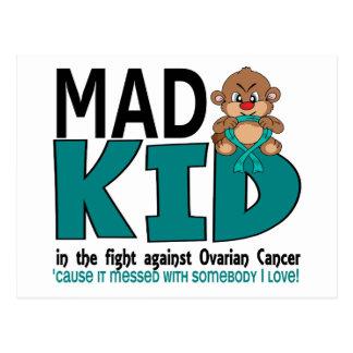 Mad Kid Ovarian Cancer Postcard