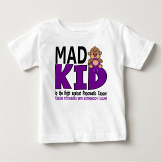 Mad Kid Pancreatic Cancer Baby T-Shirt