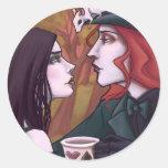 Mad Love Round Sticker