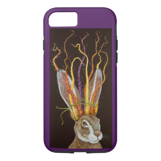 Mad March Hare Apple iPhone 7, Tough Phone Case