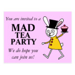 Mad March Hare Postcard