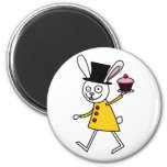 Mad March Hare Refrigerator Magnets