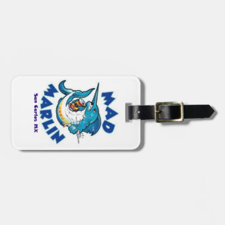 Mad Marlin Luggage Tag