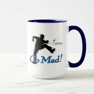 "Mad Marty ""Go Mad!"" Coffee Mug"