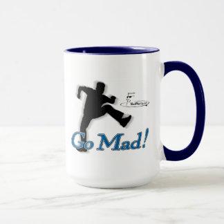 "Mad Marty ""Go Mad!"" Coffee Mug"