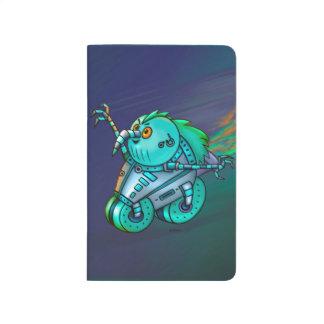 MAD MAX CHICKEN CARTOON Pocket Journal