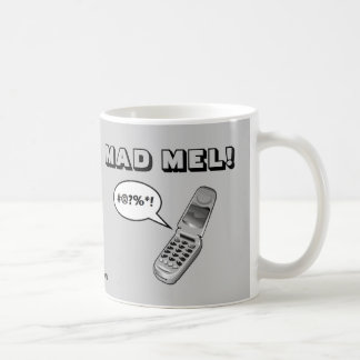 MAD MEL! - Mel Gibson Coffee Mug