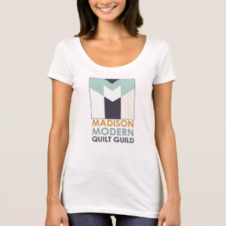 Mad Mod V Neck T Shirt