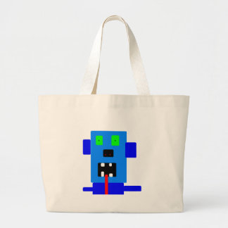 mad monster #4 items large tote bag